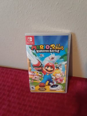 Mario rabbids Nintendo switch $35 firm price for Sale in Houston, TX