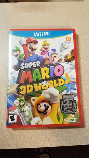 Nintendo Wii U Super Mario 3D World - Brand New, Factory Sealed! for Sale in Indian Trail, NC