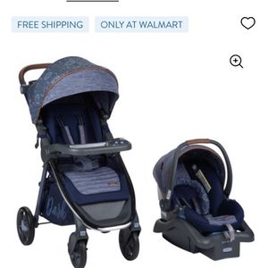 Monbebe dash All In One Travel System-Stroller And Car seat combo for Sale in Marietta, GA