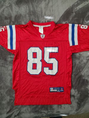 Kids Patriots jersey throwback youth medium. for Sale in Fontana, CA
