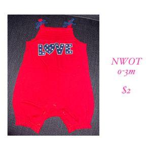 Patriotic baby romper for Sale in Wilsonville, OR