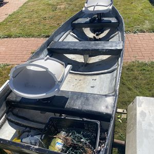 12ft Aluminum Boat With 14ft Trailer. for Sale in SeaTac, WA