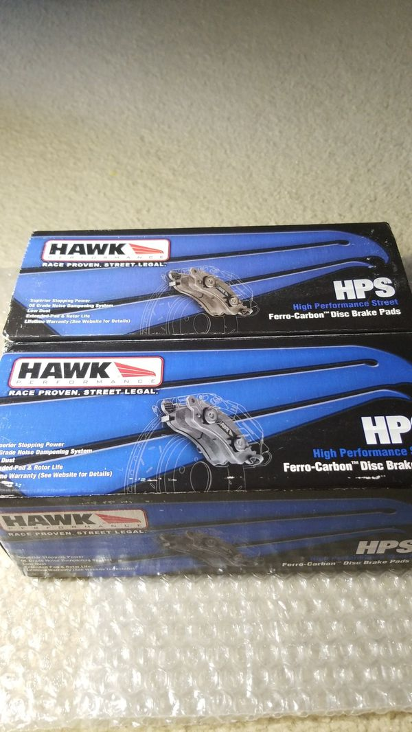 HPS Hawk Brake Pads for Genesis Coupe