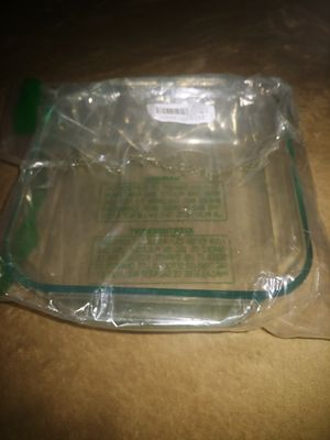 Pyrex Square 8 inch Clear Glass Baking Dish for Sale in Tempe, AZ