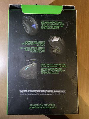 Gaming Mouse-razer abyssus v2 for Sale in Carrboro, NC