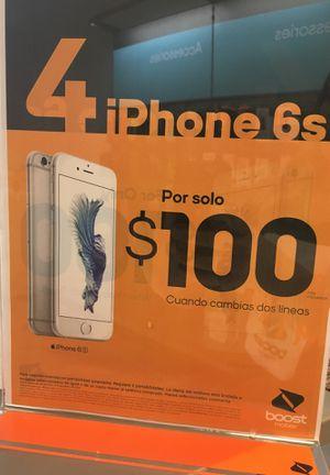 4 iPhones 6s 100$ for Sale in Orlando, FL