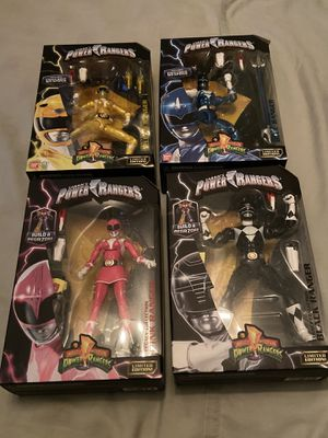 Power Rangers Legacy (Set of 4) for Sale in Santa Ana, CA