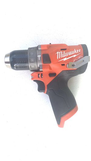 Milwaukee M12 FUEL 12-Volt Lithium-Ion Brushless Cordless 1/2 in. Hammer Drill (Tool-Only) for Sale in Lamont, CA