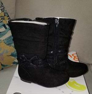 NEW little girl boots size 7 for Sale in Fresno, CA