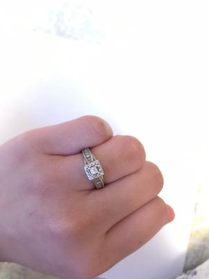 White Gold 10k Engagement Ring for Sale in Dallas, TX