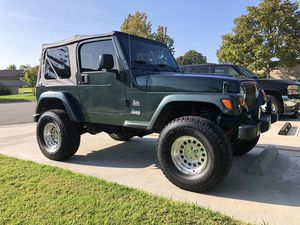 03 jeep wrangler excellent condition low mileage for Sale in Huntington Beach, CA
