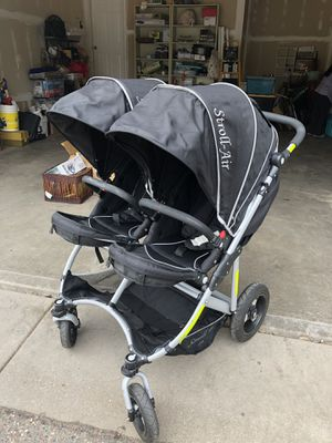 Stroll-Air double stroller for Sale in North Saint Paul, MN