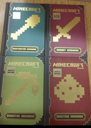 ●PICK UP BELL GARDENS ● NEW $20 FOR 4/$20 POR 4 TAPA DURA/ HARDCOVER MINECRAFT BOOKS for Sale in Bell Gardens, CA