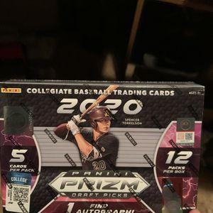 2020 Panini Prizm Draft Picks Baseball Box (1 Left)!!! for Sale in Seymour, CT