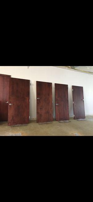 """Excellent condition solid wood doors 🚪 36""""/80"""" for Sale in Bellevue, WA"""