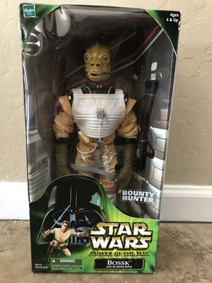 Collectible Star Wars action figure Bosk bounty hunter for Sale in Phoenix, AZ