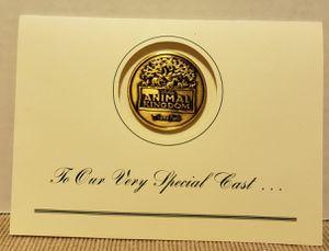 1998 Disney's Animal Kingdom Cast Member Grand Opening invitation Coin RARE for Sale in Largo, FL