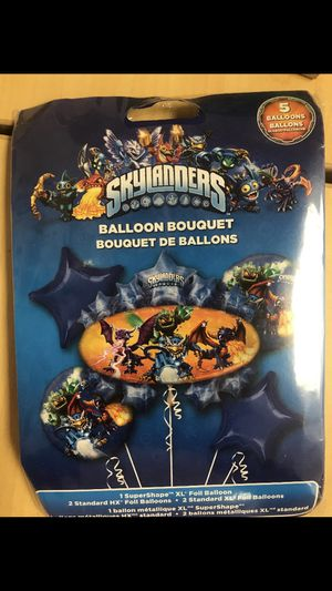 Skylanders balloon bouquet for Sale in Waterbury, CT