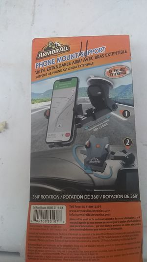 Armorall phone mount/support 15.00 for Sale in Visalia, CA