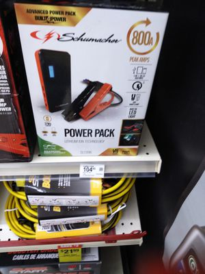 Vehicle power pack and jump starter for Sale in Oshkosh, WI