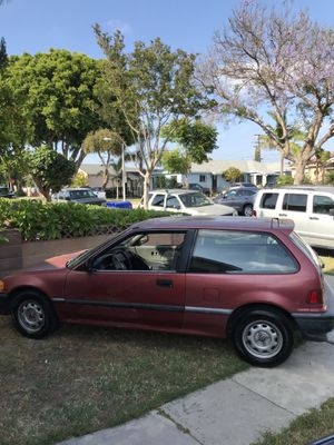 Honda Civic Hatchback 1990 DX for Sale in Lynwood, CA