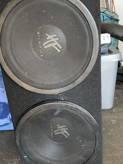 2 12inch Hifonics Subs for Sale in Fremont,  CA