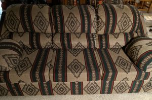Southwest pattern 3 cushion couch for Sale in Glendale, AZ