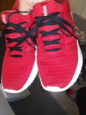 Unbelievably comfortable and an excellent condition I have a bright red pair of Adidas Cloud foams for Sale in Norton, MA