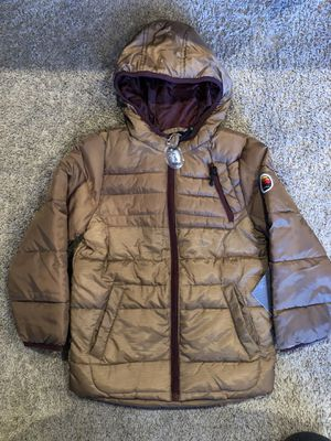 Boy winter puffer jacket big chill size 6 for Sale in Chicago, IL
