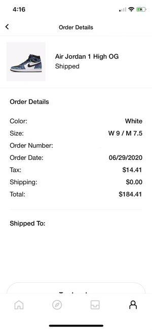 """Jordan 1 """"Tie Dye"""" Size 9.5 Women's for Sale in Fresno, CA"""