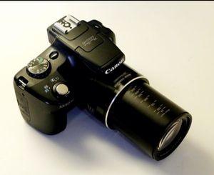 Canon Camera 50hs telephoto lens 50x zoom for Sale in Miami, FL