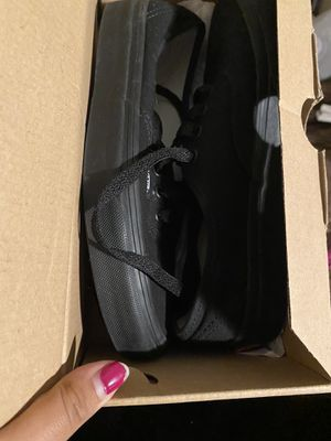 Brand new black vans for Sale in Santa Ana, CA