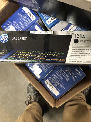 Hp cartridges and toner paccs for printers for Sale in San Diego, CA