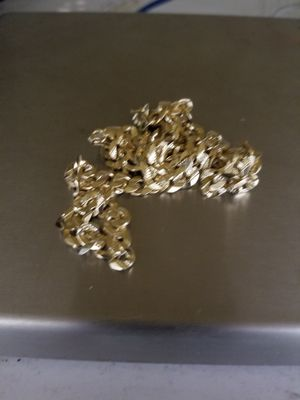 14k gold Cuban necklace for Sale in Silver Spring, MD