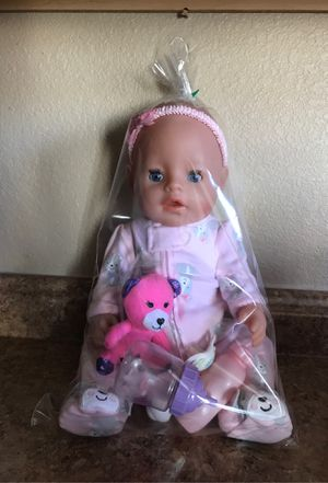 Baby born doll for Sale in Rio Rancho, NM