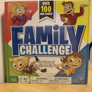 Family Challenge, The Game Of Frantic Family Fun for Sale in New York, NY