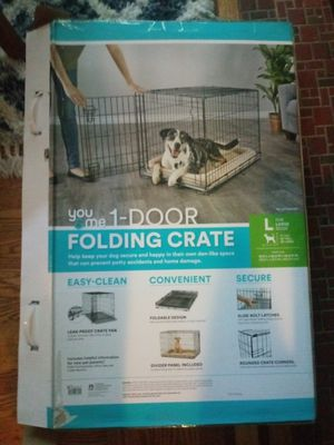 Large dog crate for Sale in St. Louis, MO