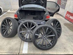 295/30/26 Rims & Tires for Sale in Vallejo, CA