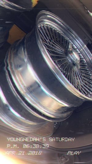 R20 Wire wheels Spokes Rims for Sale in Dumfries, VA