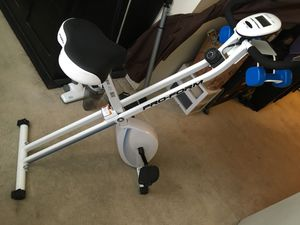 X-Bike Folding Upright Bike with 2 lb. Weights for Sale in Pasadena, CA