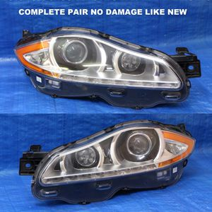 2010-2015 Jaguar XJ Afs Headlight Hid Original Pair no Damage Like New for Sale in Hollywood, FL