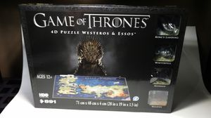 Game of Thrones 4D puzzle! for Sale in Northbrook, IL