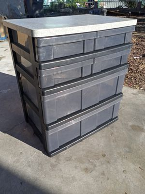 New Plastic Rubber Made Drawers With Six Shelves. for Sale in Lancaster, CA