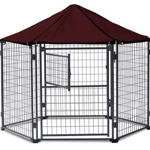 Dog kennel gazebo 5.5 ft like new for Sale in NEW PRT RCHY, FL