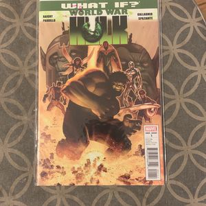 Marvel Comic Book What If World War Hulk for Sale in Ontario, CA