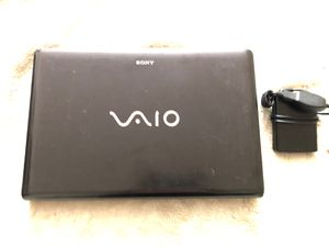 Sony Vaio laptop (Read Desc) for Sale in Washington, DC
