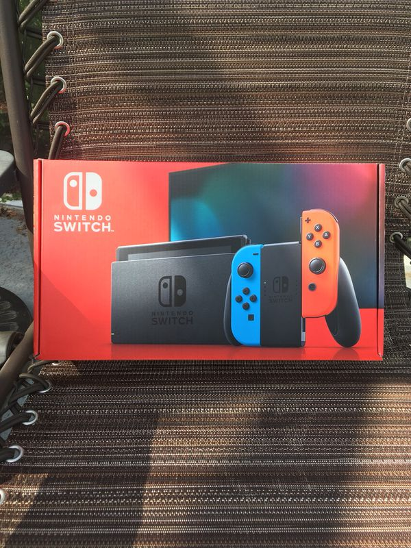 Nintendo Switch Console with Red and Blue Joycons 32GB V2 NEW IN HAND