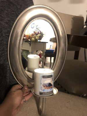 Wall Mirror  With Candle 🕯 Holder for Sale in Arvada, CO