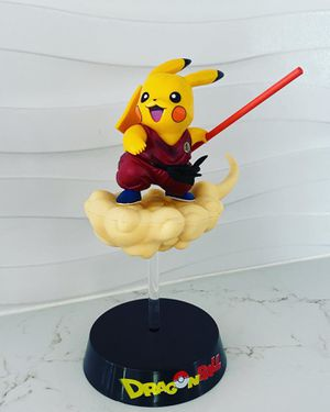 Gokachu Nimbus Figure Model Dragon Ball Z Pokemon Mix Goku & Pikachu Statue for Sale in Miami Beach, FL