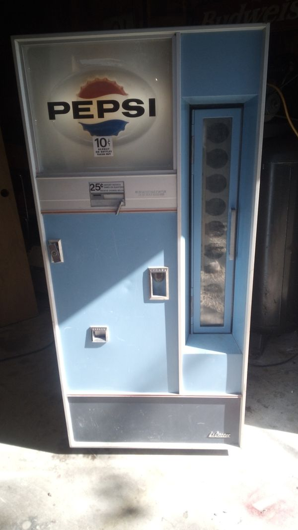 1977pepsi bottle machine